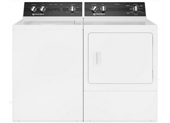 Speed Queen 26 inch Top Load Washer (TR5) & 27 Inch Electric Dryer (DR5)