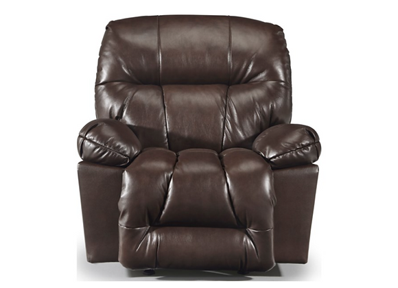 Best Home Furnishings Retreat Leather Rocker Recliner