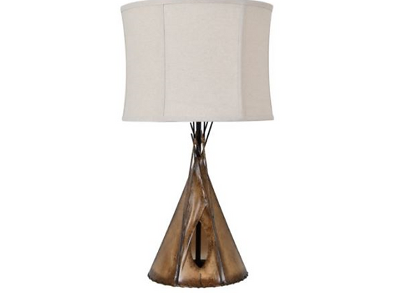 Crestview Teepee Table Lamps