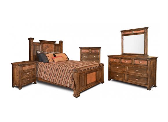 Horizon Home Copper Canyon King Bedroom Set
