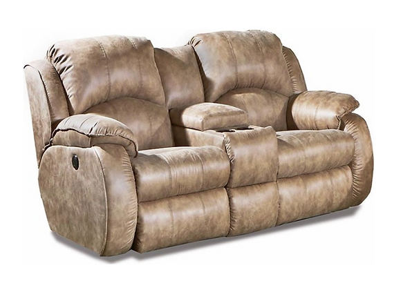 Southern Motion Cagney Loveseat with Power Headrests