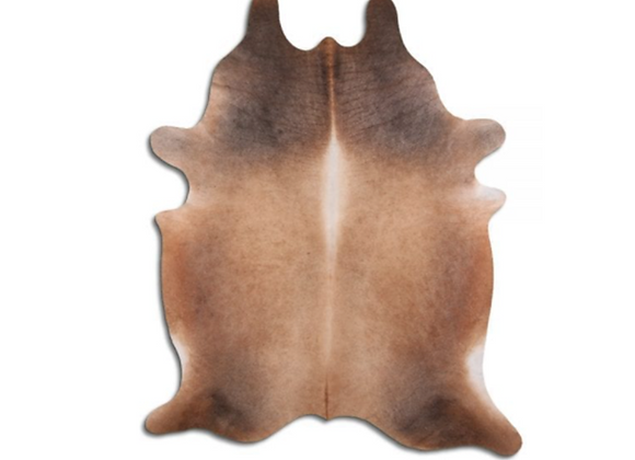 Assorted Natural Cowhide Extra Large Brown