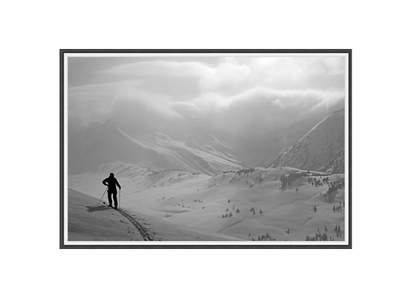 Back Country Skier Wall Art
