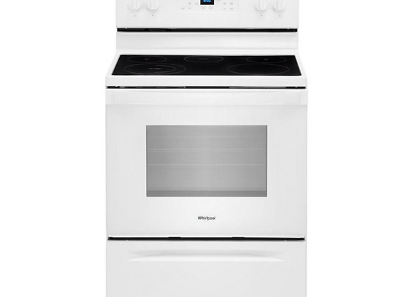 Whirlpool 30 in. 5.3 cu. ft. Electric Range in White with FrozenBake Technology
