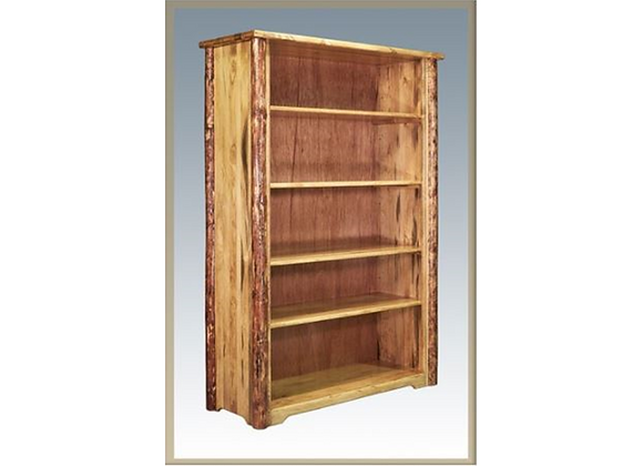 Montana Woodworks Glacier Country Log Bookcase