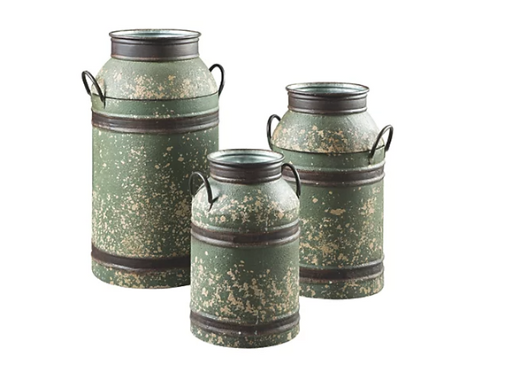 Ashley Elke Milk Can (Set of 3)