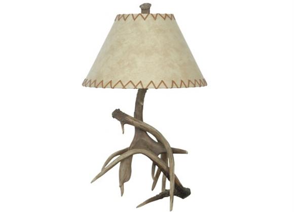 Crestview Trophy Table Antler Lamp