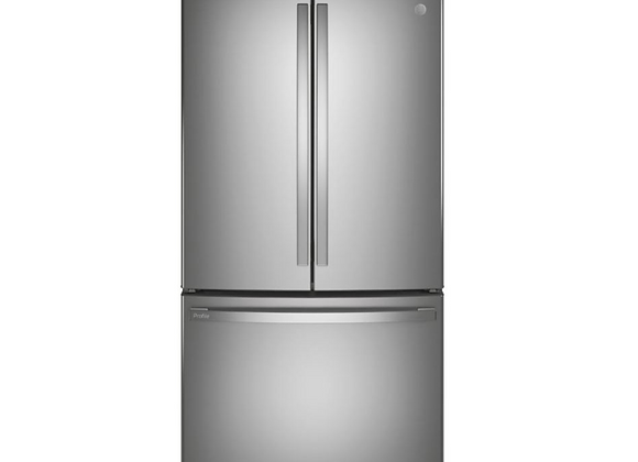 LG Profile 23.1 cu. ft. French Door Refrigerator in FR Stainless Steel