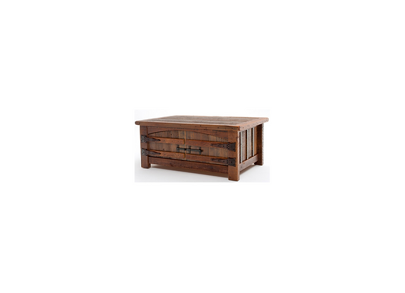 Green Gables Heritage Teton 2 Door Coffee Table with Curved Doors