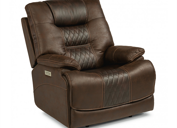 Flexsteel Dakota Power Recliner with Power Head