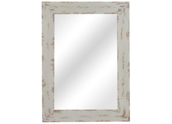 Crestview Distressed Reflection Mirror