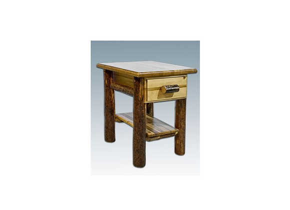 Montana Woodworks Glacier Nightstand with Drawer