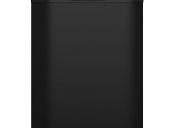 GE Dishwasher with Front Controls in Black