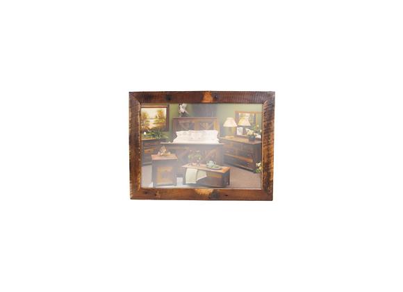 Fireside Barnwood Mirror 48w x 36h