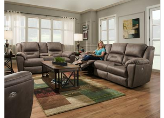 Southern Motion Pandora Sofa and Loveseat