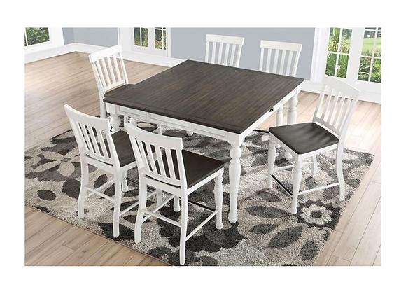 Steve Silver Joanna Two Tone Counter Table and Chairs