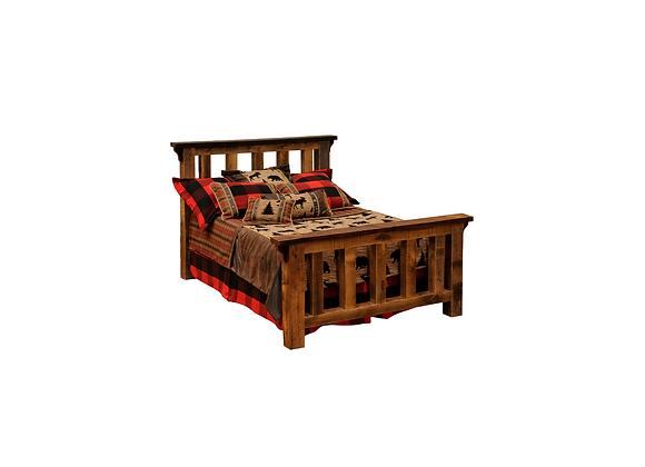 Fireside Barnwood Post Bed