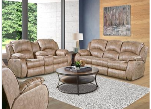 Southern Motion Cagney Sofa and Loveseat