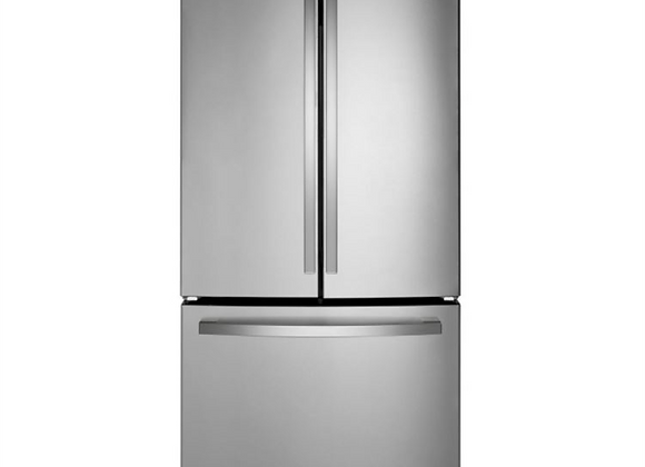 GE 27 cu. ft. French Door Refrigerator in Fingerprint Resistant Stainless Steel
