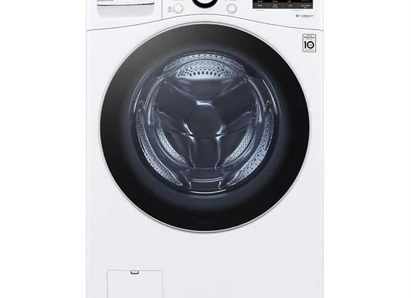 LG 4.5 cu. ft. Front Load Washer & 7.4 cu. ft. Electric Dryer