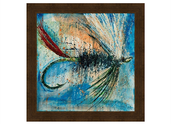 Green Butted Skunk Fly Wall Art