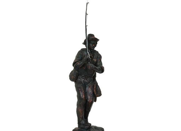 Crestview Resin The Catch Statue