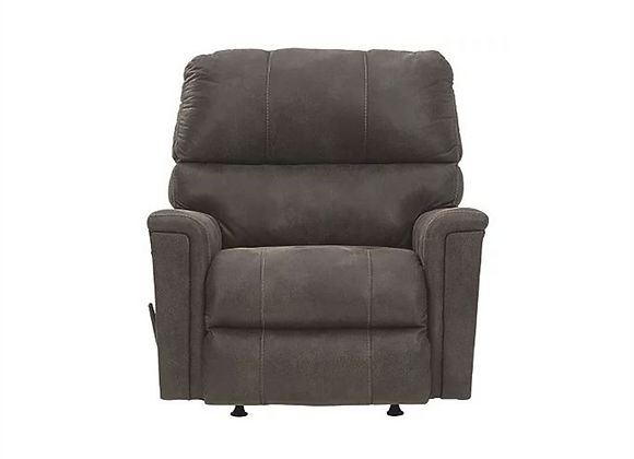 Ashley Navi Rocker Recliner Smoke