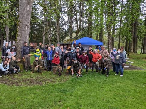 4/24/21 Wortman Park Cleanup