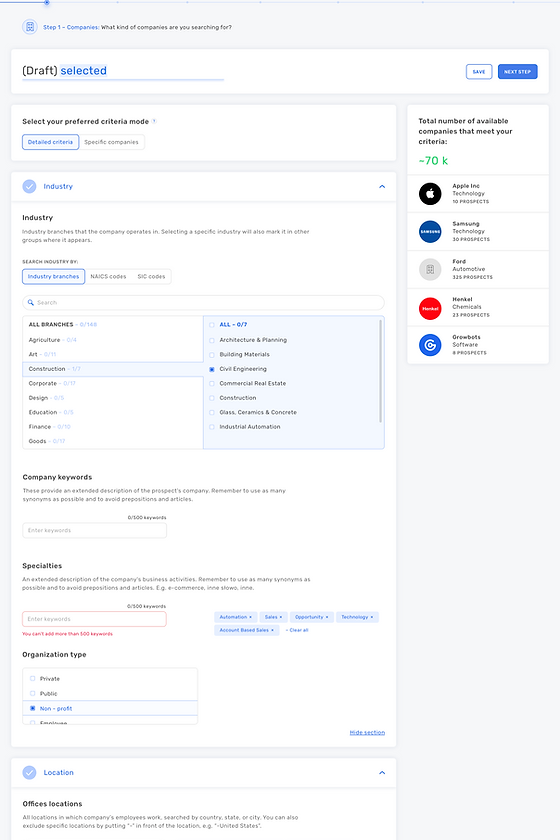 [CC_PB_1.3] Step 1 - Companies - Filters