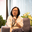 Prof Chua giving her views.