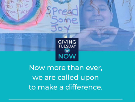 #GivingTuesdayNow is Here