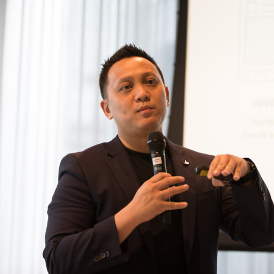 """Roy Tan from Facebook giving his views on """"Protecting elections integrity on Facebook."""""""