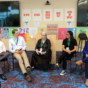 """Panel session moderated by Rebecca. Topic - """"Evolution of the information apocalypse."""""""