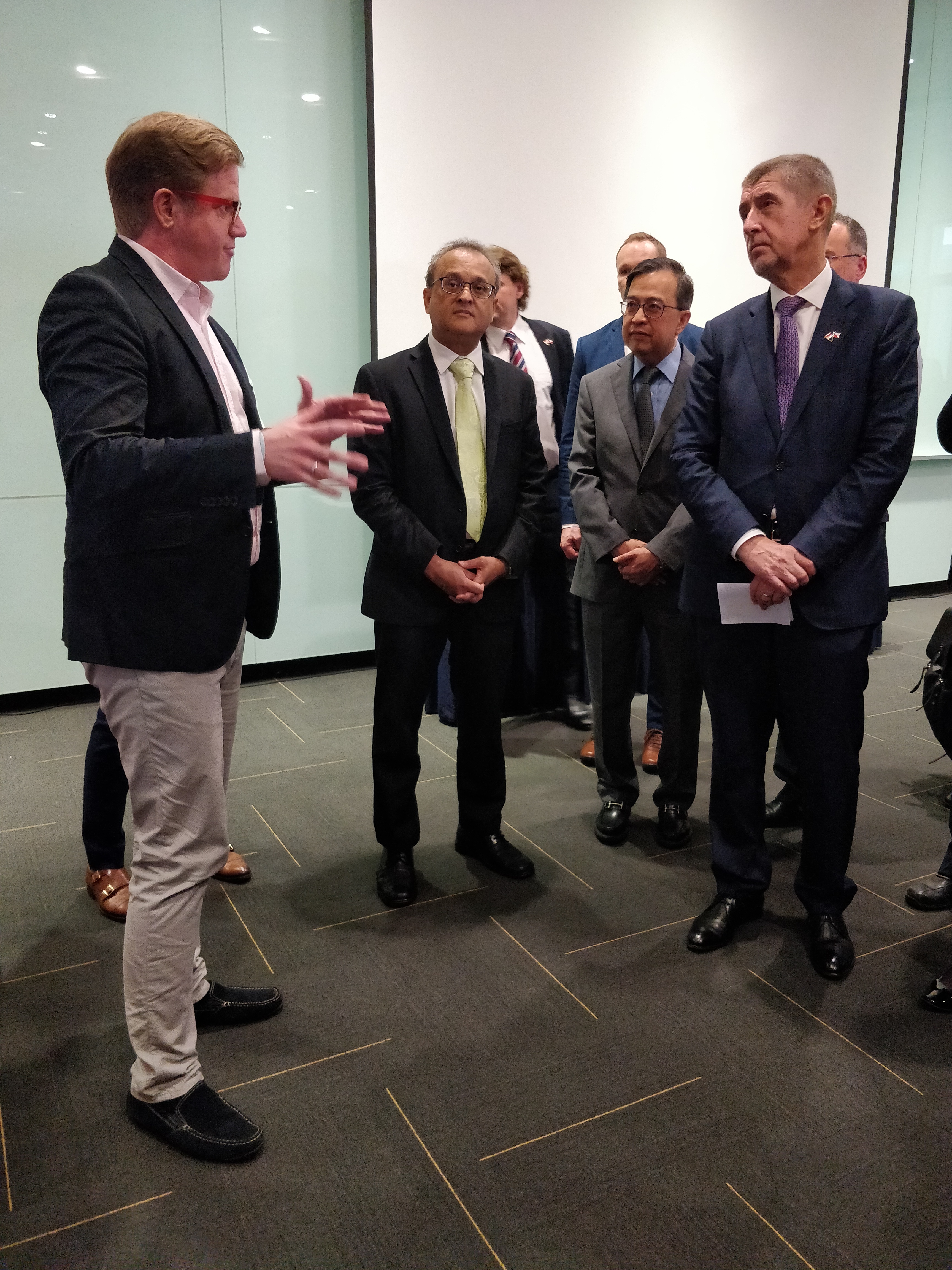 Czech Prime Minister Visit to NTU