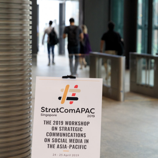 Welcome to Day 1 of Stratcom at Facebook APAC HQ.