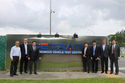 Mr. Takuya Hirai's Visit to CETRAN