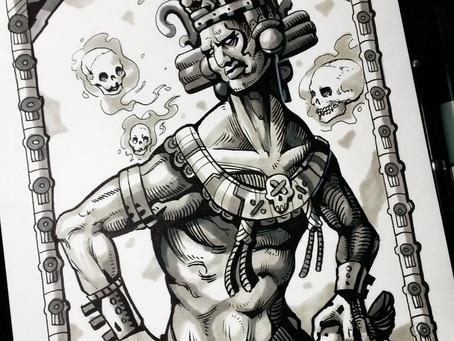 Dioses Mayas. Buluc Chabtan