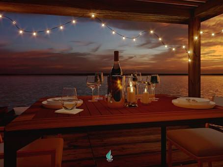 El muelle de Bacalar más romántico y hermoso.