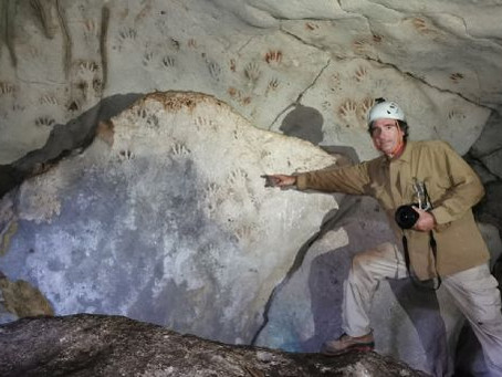Encuentran huellas de niños mayas con más de 1,000 años de antigüedad.
