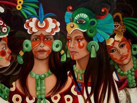 Los Mayas en Navidad