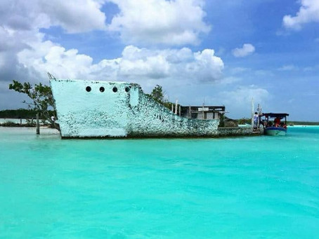 El paraíso es Bacalar; Un lugar para explorar.