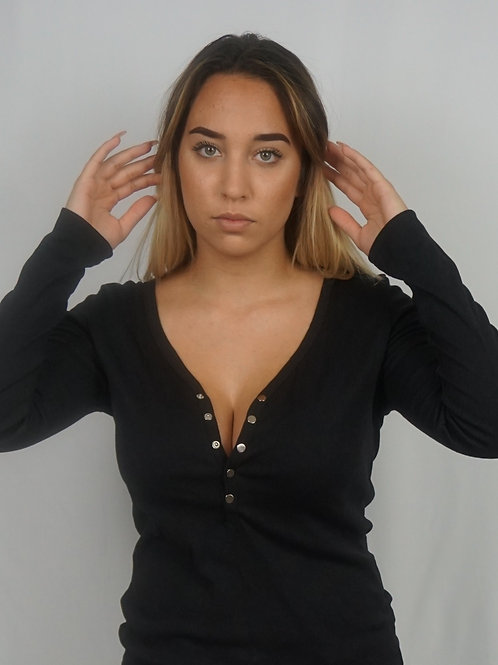 Casual but always sexy long sleeve