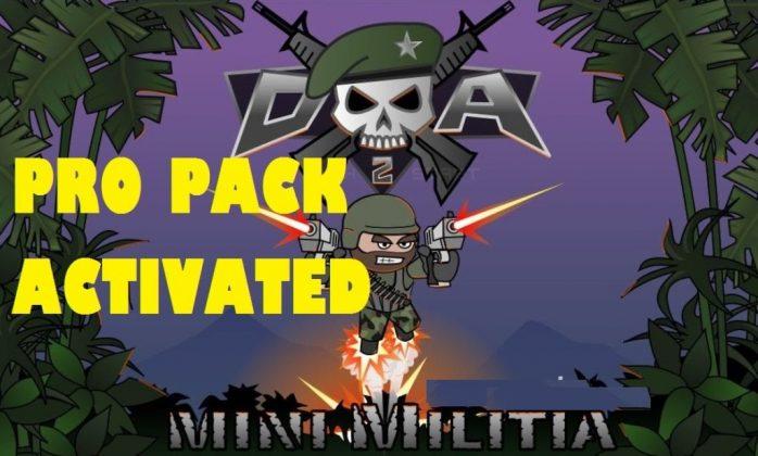 mini militia mod apk store unlocked