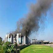 Incendio en una de las sedes del mayor fabricante de vacunas del mundo en India