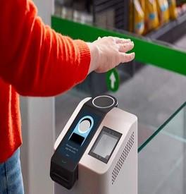 Amazon crea una tecnología que permite hacer pagos con la palma de la mano