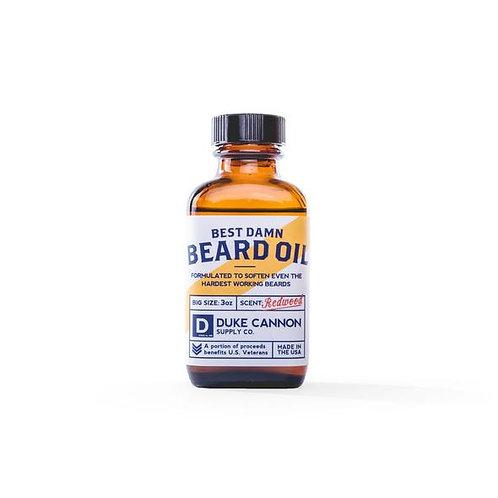Best Damn Beard Oil by Duke Cannon