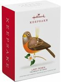 Robin, Beauty of Birds, Hallmark Keepsake