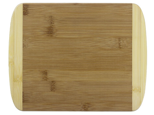 """Two-Tone 11"""" Cutting Board by Totally Bamboo"""