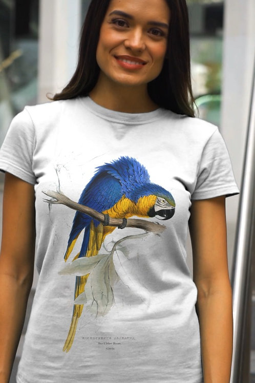 Camiseta - Arara azul - Anodorhynchus hyacinthinus