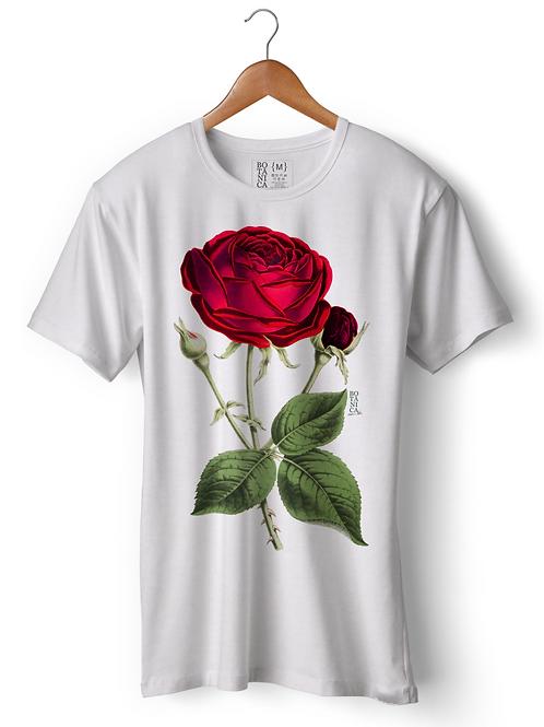Camiseta - Rosa Vermelha